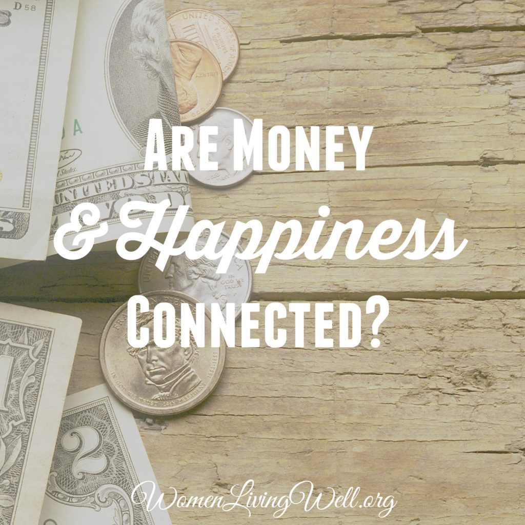 Are Money and Happiness Connected