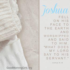 Joshua 5