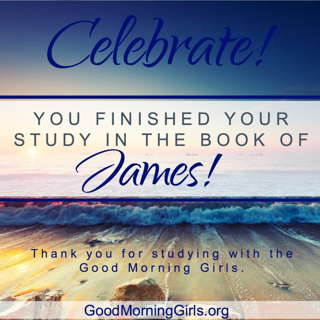 Celebrate the book of James