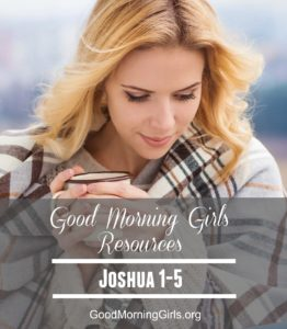 It's Time to Begin the Book of Joshua {Intro and Resources for Joshua 1-5}