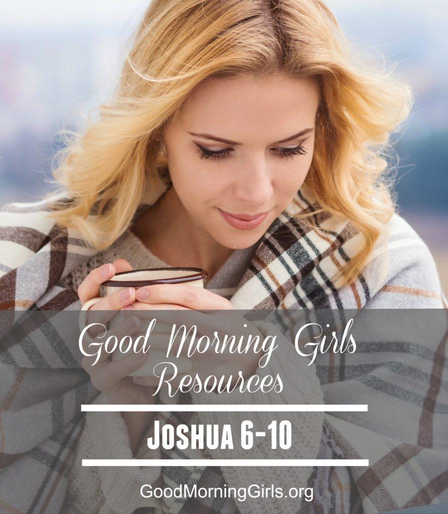 GMG Resources Joshua 6-10
