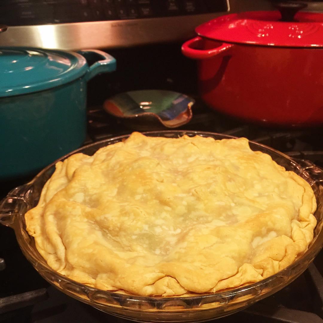 pie-on-stove