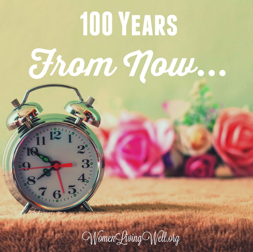 100 Years From Now...