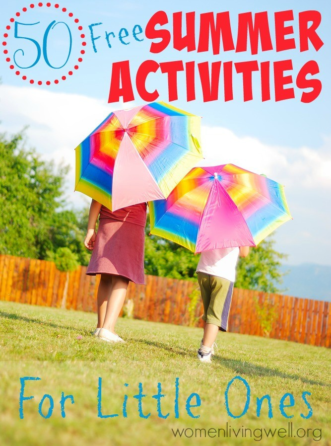 50 Free Summer Activities for Little Ones