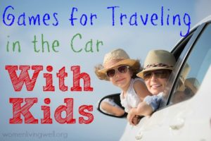 Games for Traveling in the Car With Kids
