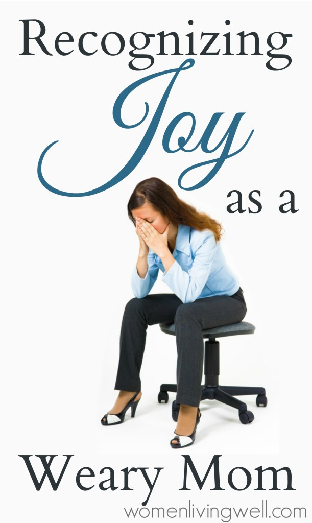 Recognizing Joy as a Weary Mom[2]
