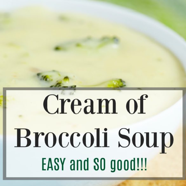 Tasty Tuesday: Cream of Broccoli Soup