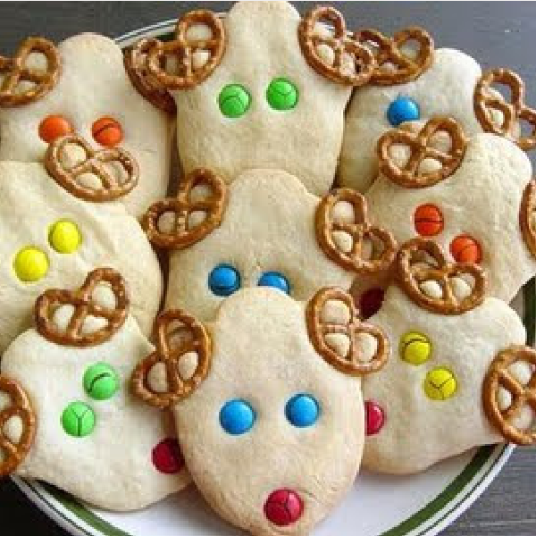 Tasty Tuesday: Easy Reindeer Cookies