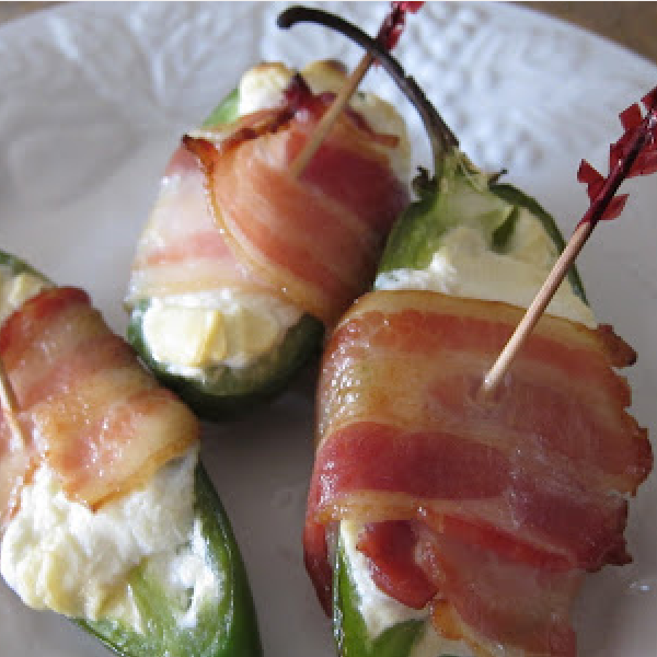 Comfy In The Kitchen: Stuffed Jalapeno Appetizers – 3 Ingredients!