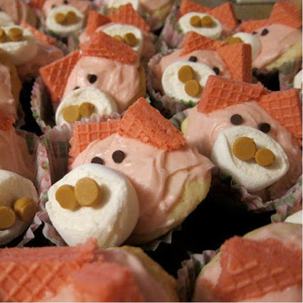 Cute Piggy Cookies
