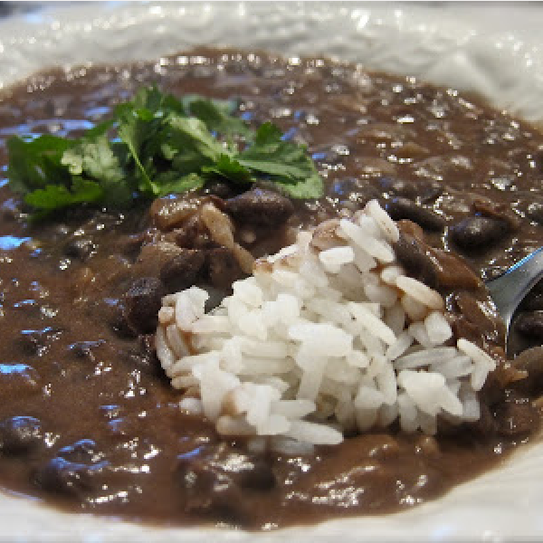 Healthy Black Bean Soup With Rice