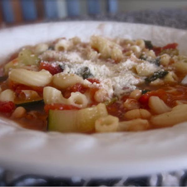 Healthy Homemade Pasta E Fagioli