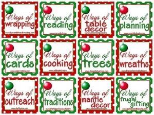 Christmas Table Decorating Ideas~12 Ways of Christmas