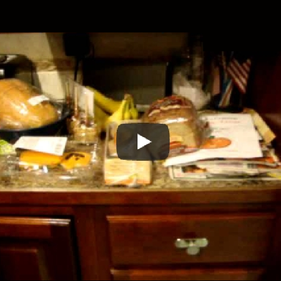 An Unplanned Video of my Clutter – Making Your Home a Haven