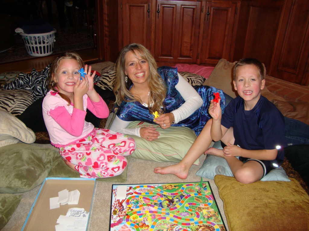 One of the best memory makers for your children is creating family nights that are intimate and fun; where you laugh and enjoy one another. #WomenLivingWell #homemaking #family #makingyourhomeahaven