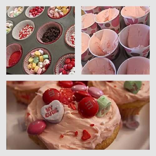 Valentine's Day ~ Cup Cake Buffet