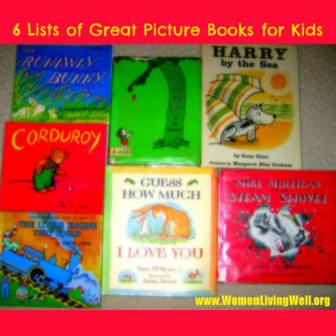 6 Lists of Great Picture Books For Kids
