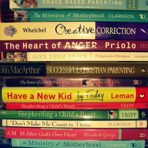 My List of Excellent Christian Parenting Books