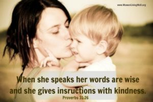 The Proverbs 31 Woman – Week 9 – Putting Order On Your Tongue