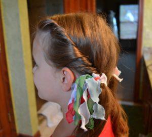 Hair Tutorial: Twisty Ponytails & WLWW Link-Up Party!