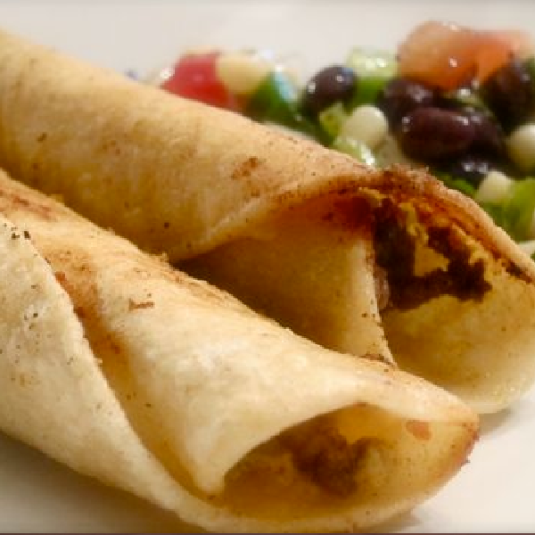 Easy Beef Taquitos