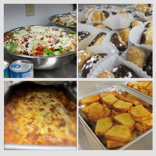 Lasagna for 50 – Cooking for a Crowd