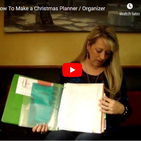 My Christmas Planner – A Tutorial