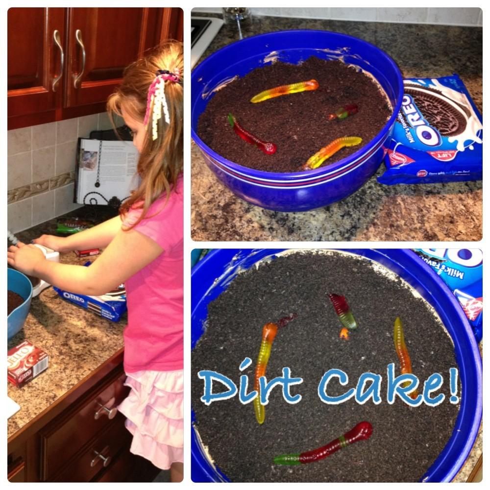 Dirt cake
