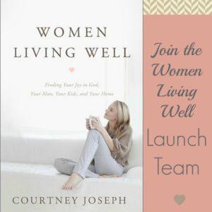 "Join the ""Women Living Well"" Book Launch Team!"