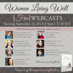 The Webcast Schedule & WLWW Link-Up Party!