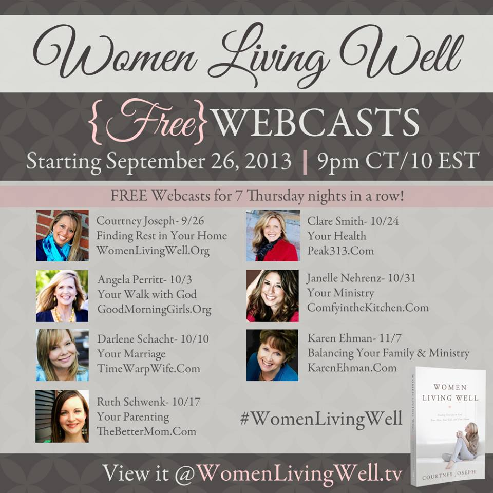 Women Living Well Schedule 2