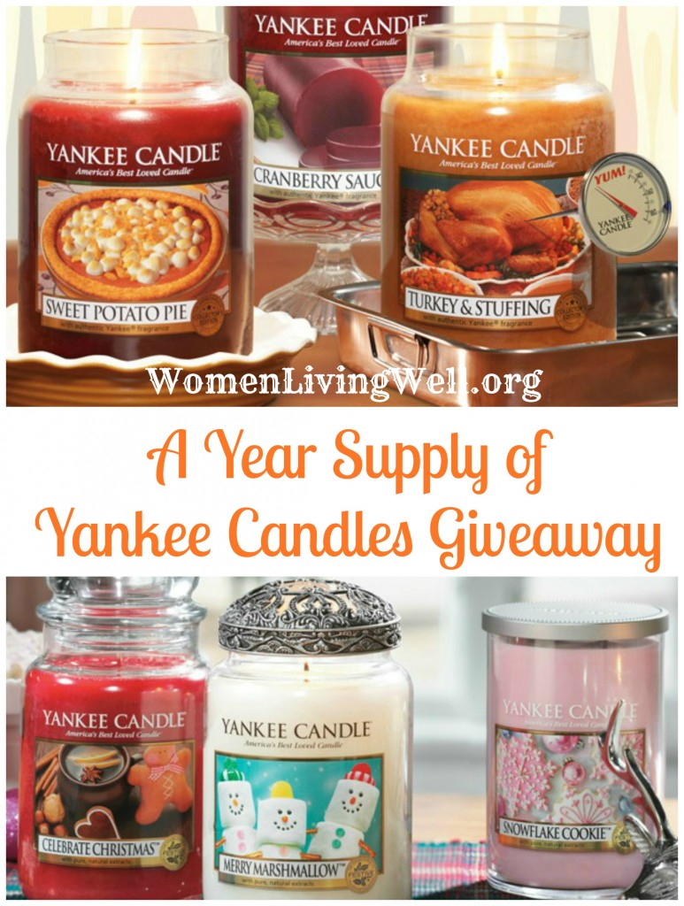 Giveaway 2 Yankee Candles