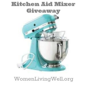 Making Your Home a Haven {Week 3} Plus a Kitchen Aid Mixer Giveaway