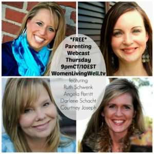 *FREE* Parenting Webcast Tonight!  {Week 4 of 7}