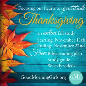 Focusing Our Hearts on Gratitude