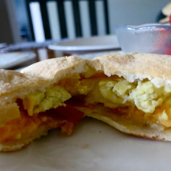 Homemade Breakfast Hot-Pockets