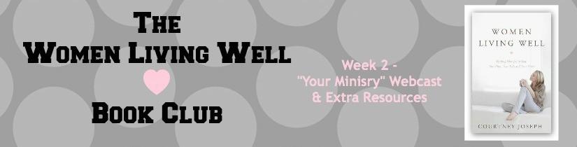 Week 2 webcast & resources