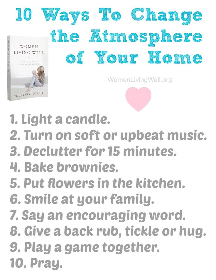 10 ways to change atmosphere of home