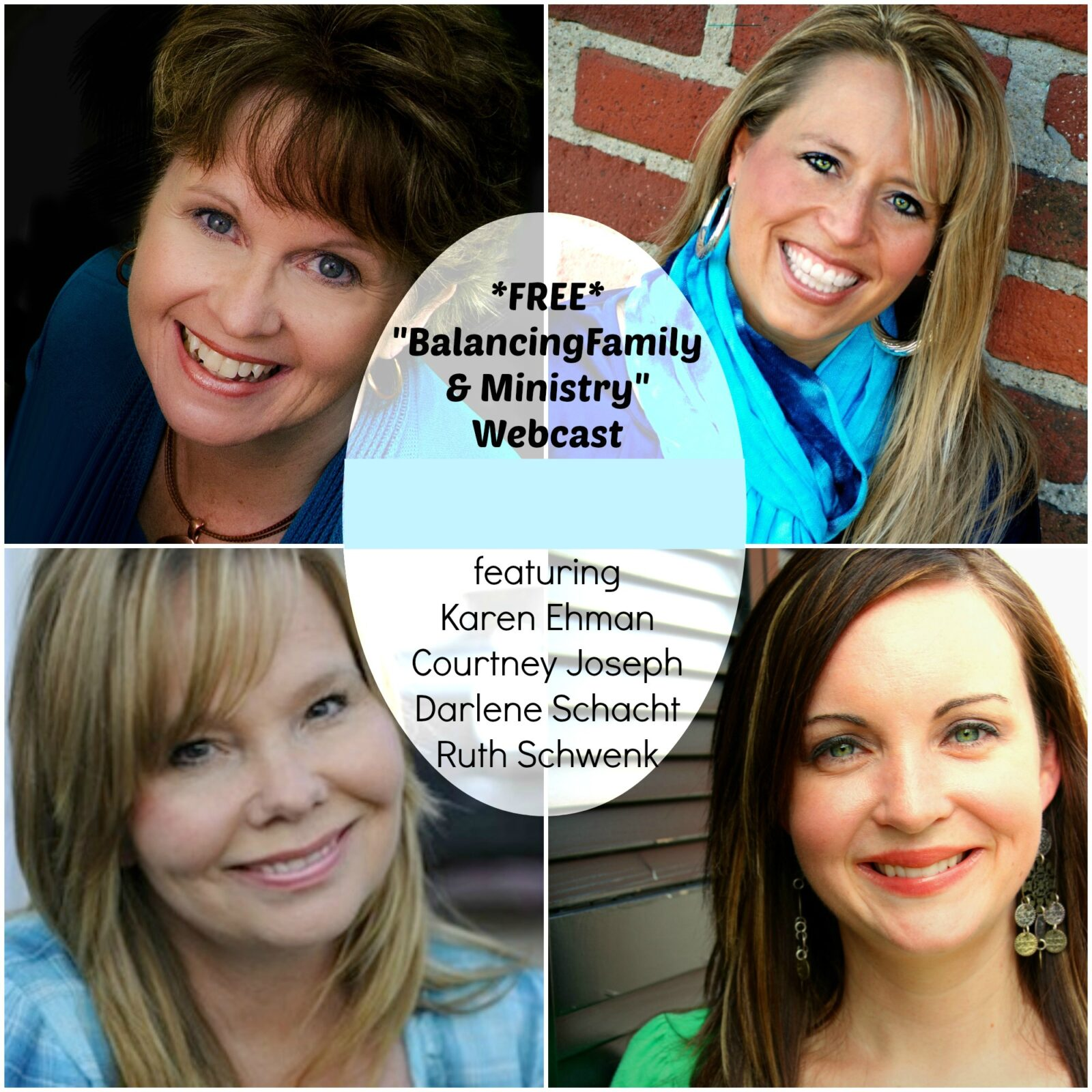 Balancing Family & Ministry Webcast + Everyday Confetti Giveaway!