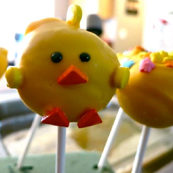 How to Make Spring Chicks Cake Pops