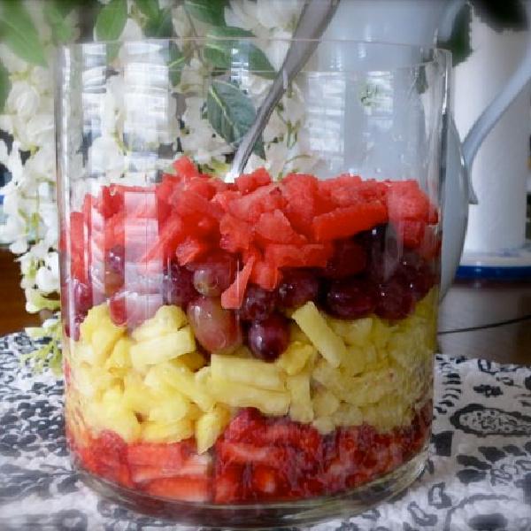 How to Make a Beautiful Fruit Salsa