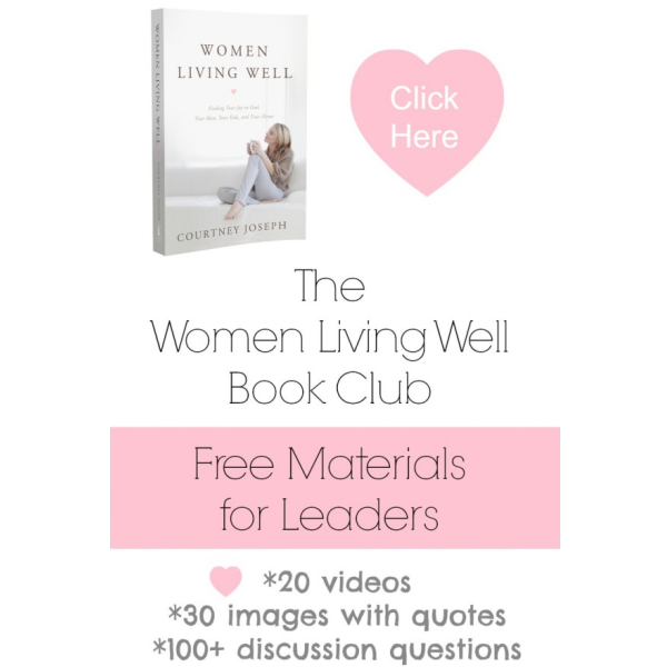 The Women Living Well Book Club {Free Materials for Leaders}