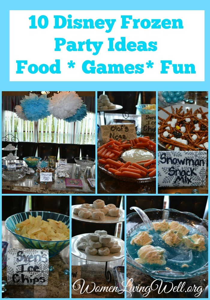 10 Disney Frozen Party Ideas Food Games And Fun