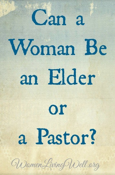 In an era of rampant feminism, many Christians believe that women can be elders and pastors, but what does the Bible say? Can a woman be an elder or pastor? #WomenLivingWell #truthinlove #church #pastor