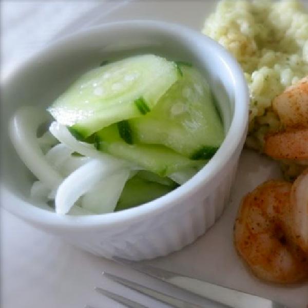 Easy & Refreshing Cucumber Salad Recipe