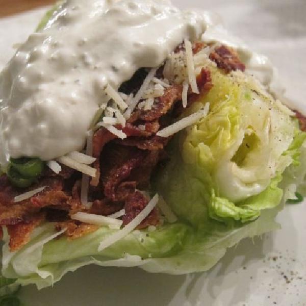Fancy but Easy Wedge Salad