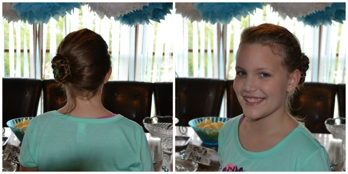 Frozen Party Elsa's Hair