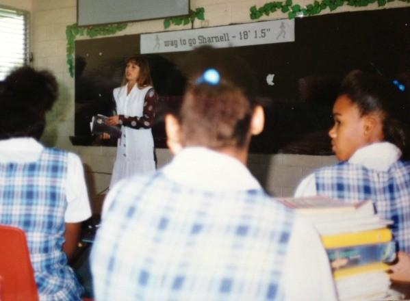 Teaching in Eleuthra, Bahamas