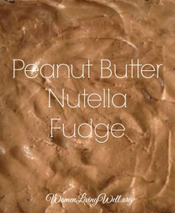 Peanut Butter Nutella Fudge – YUM!