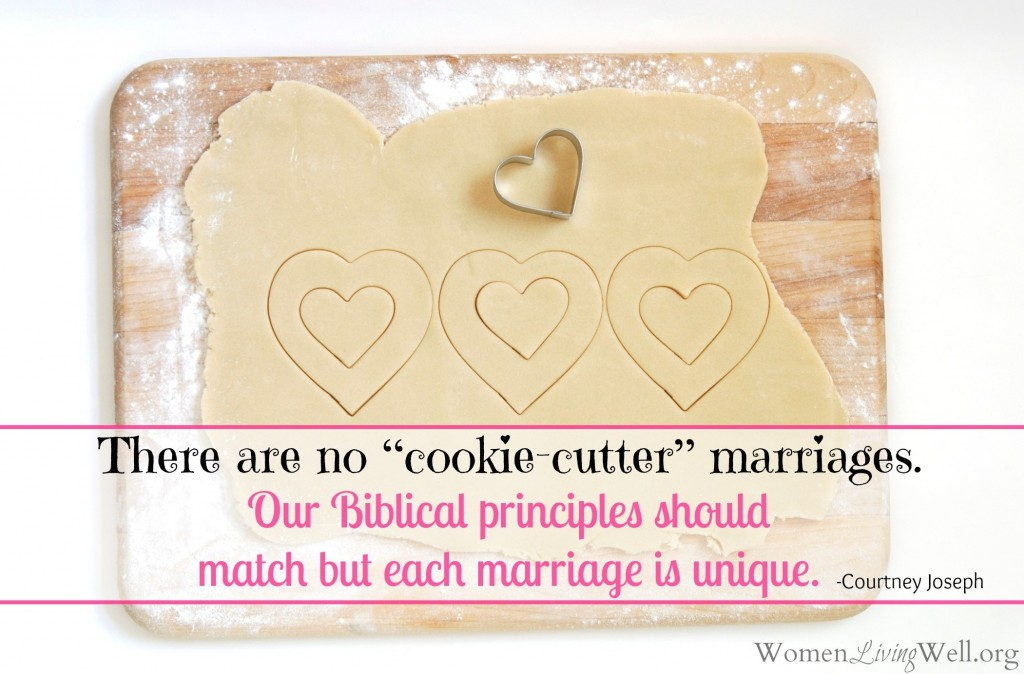 cookie cutter marriages